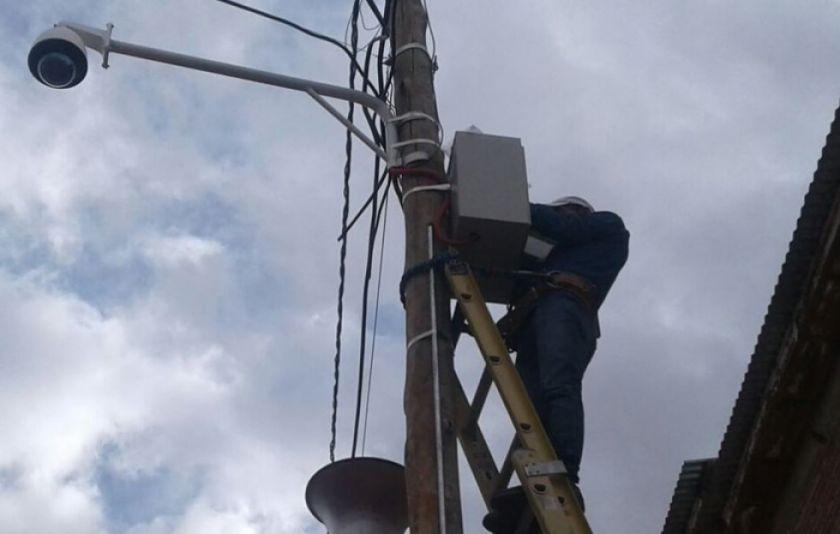 Inician mantenimiento de las cámaras de seguridad