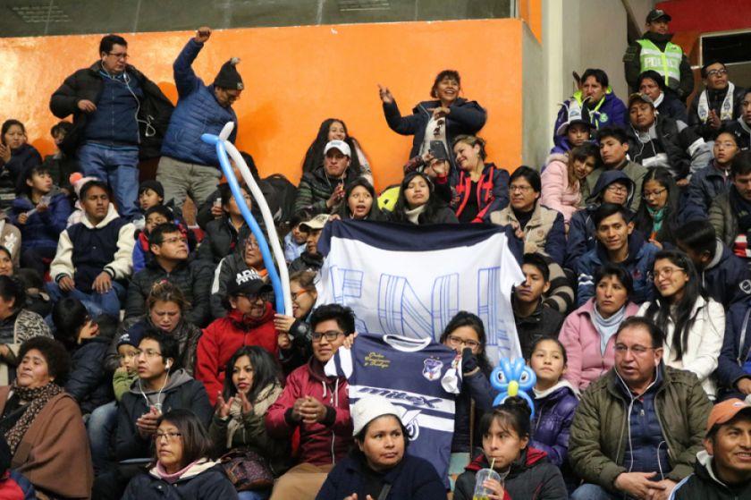 La dirigencia calereña baja a 20 Bolivianos el costo de la entrada