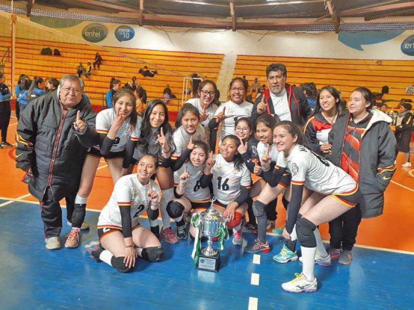 IMQV de La Paz se corona campeón del nacional de voleibol