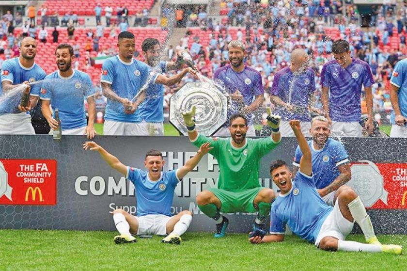 Manchester City gana la Copa Community Shield