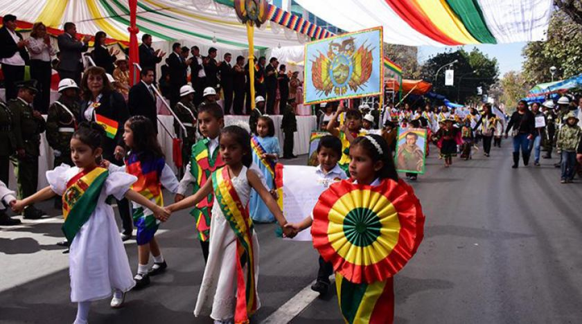 Bolivia celebra sus 194 años de independencia en la ciudad de Trinidad