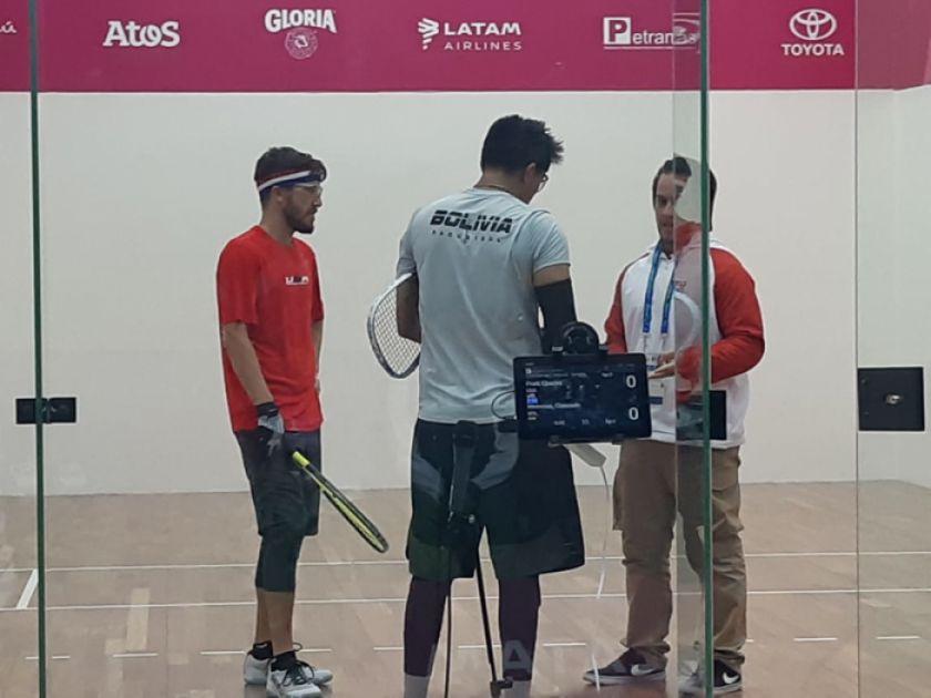 Moscoso pasa a la semifinal en los Panamericanos