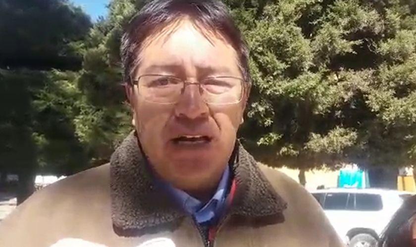 Gonzalo Barrientos habla de diálogo sobre el litio y el gobernador responde (incluye videos)