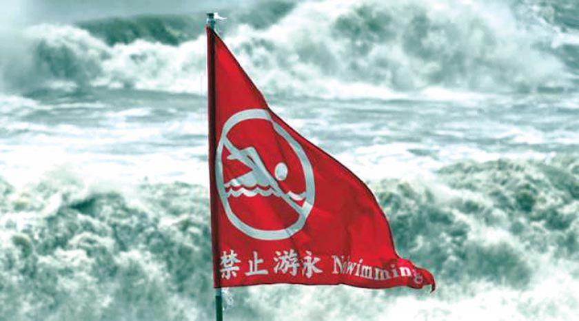Máxima alerta en China ante llegada de huracán