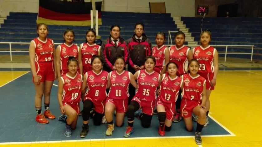 Sedede de Tarija gana la Libo menor de básquet