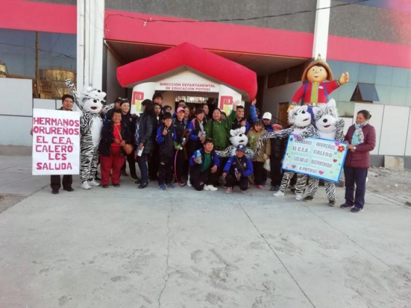 Potosí alberga los juegos de educación especial