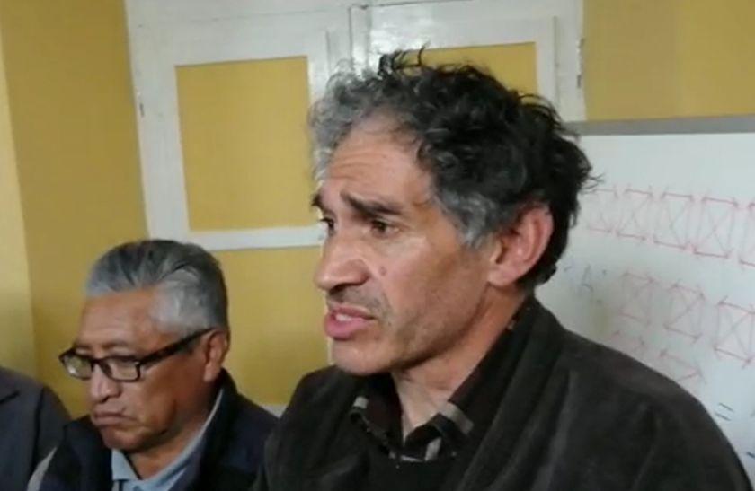 Hochkofler es reelegido en la dirigencia de los trabajadores de la UATF