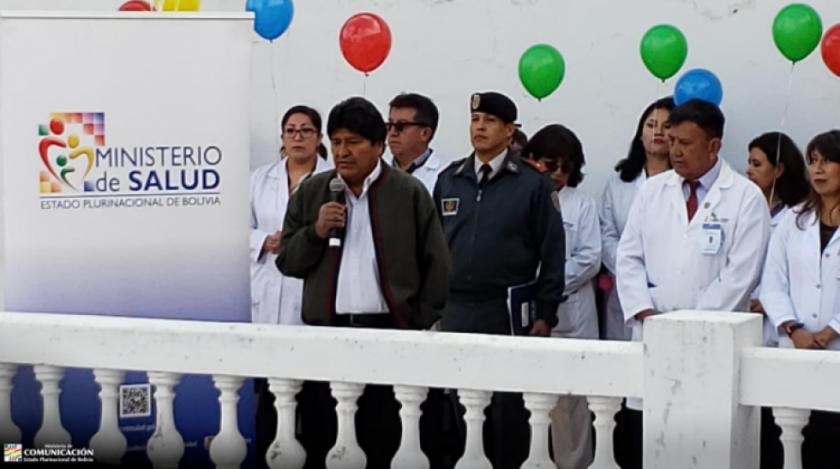 Morales: Un paro el 21 de agosto es hacer homenaje a la dictadura de Hugo Banzer