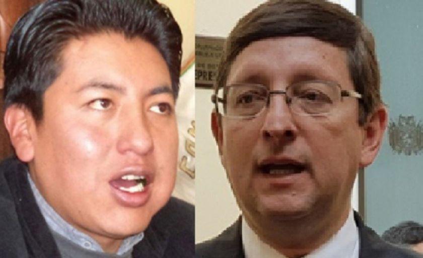 Ortiz afirma que Pumari trabaja en la campaña con Carlos Mesa