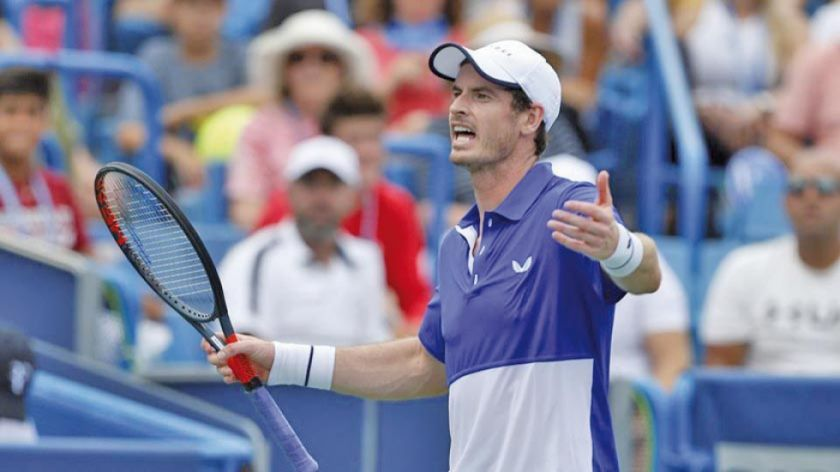 Murray cae en el torneo de Winston-Salem