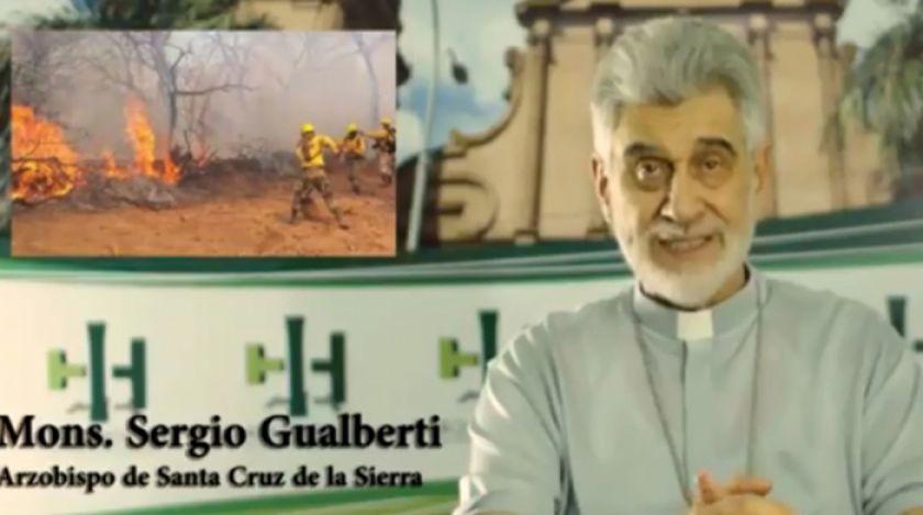 Se reavivan tres grandes incendios en la Chiquitanía