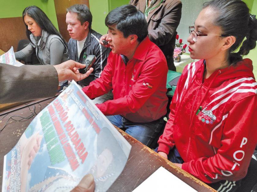 Potosí inicia campañas para ayudar al oriente boliviano