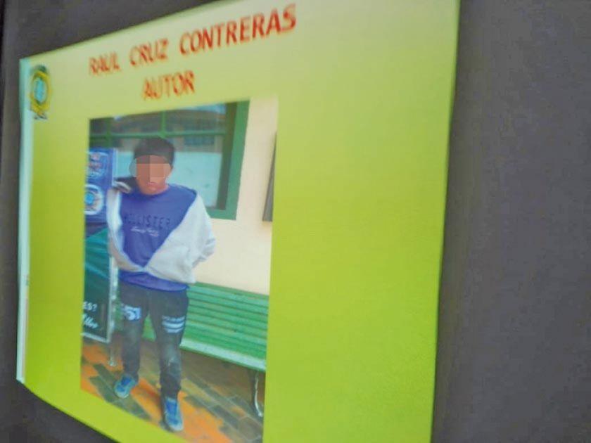 Policía captura a supuesto chutero asesino en Belén