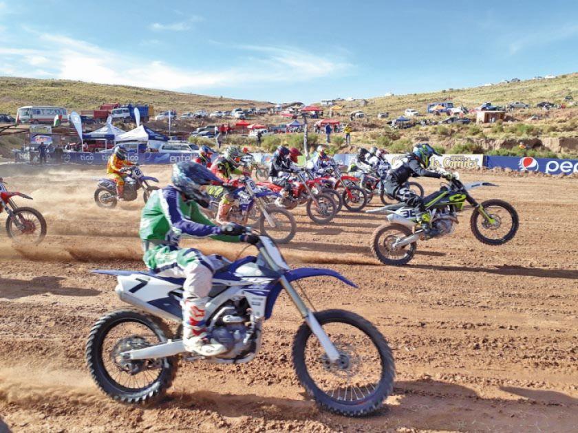 Ocho países animarán el latinoamericano de motocross