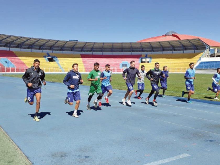 El equipo lila vuelve al trabajo enfocado en su próximo duelo del torneo Clausura