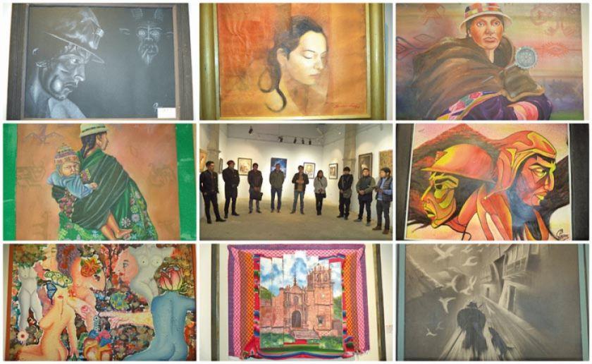 Perú y Bolivia se unen en exposición pictórica