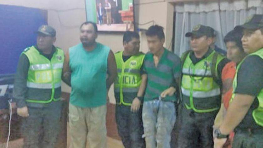 Detienen en Roboré a tres personas acusadas de provocar incendios