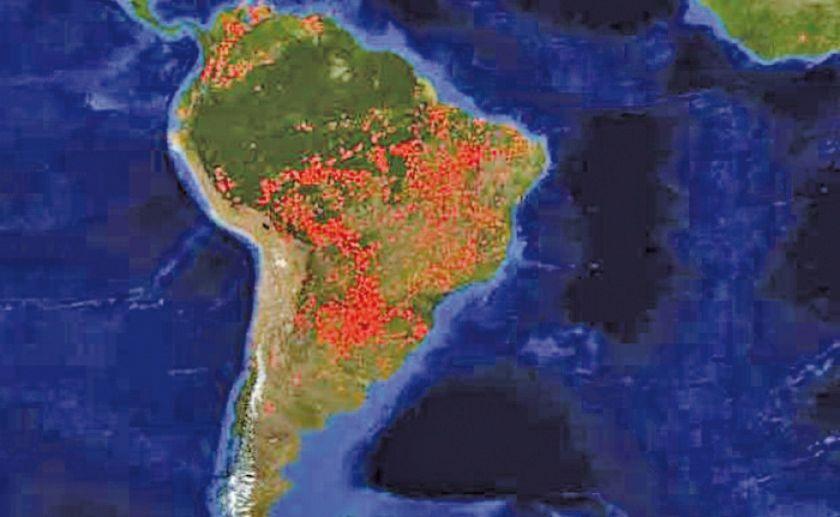 Evo va a la cumbre presidencial en Colombia por la Amazonia
