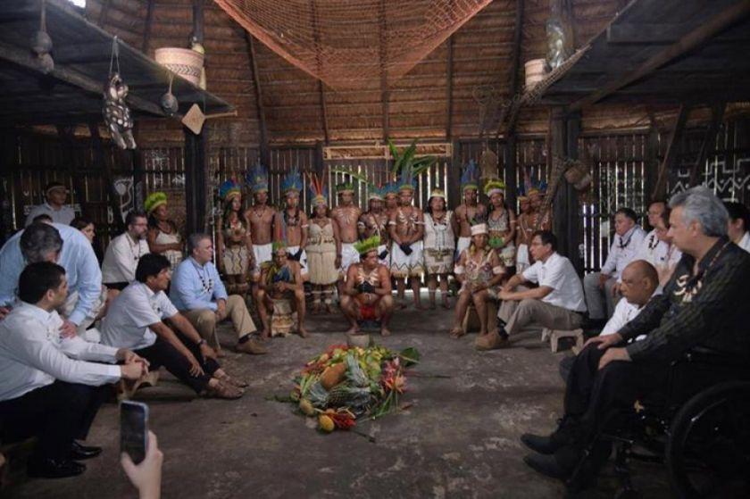 Países amazónicos unen fuerzas en pro de la selva