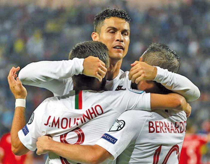 """Portugal gana a Serbia en la """"Estrella Roja"""""""