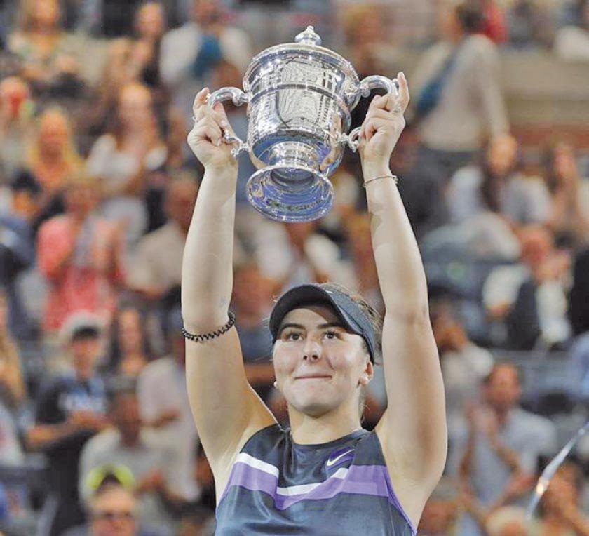 Andreescu conquista el Abierto de EE.UU.
