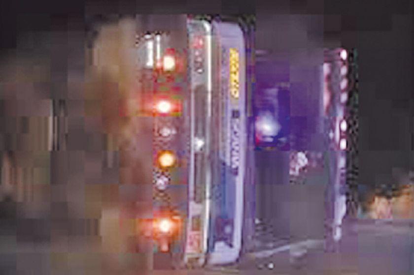 Accidente de bus deja siete muertos en la ruta Oruro a Cochabamba