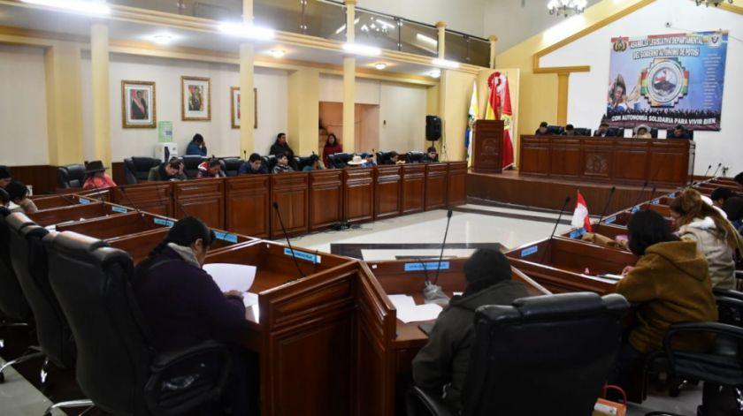 La Asamblea legislativa analizó varios convenios y proyectos