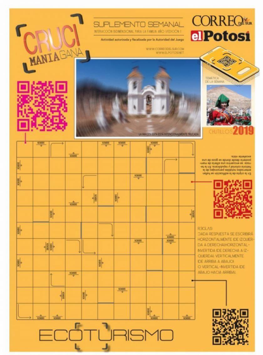 Suplemento de crucigramas de El Potosí premia en efectivo