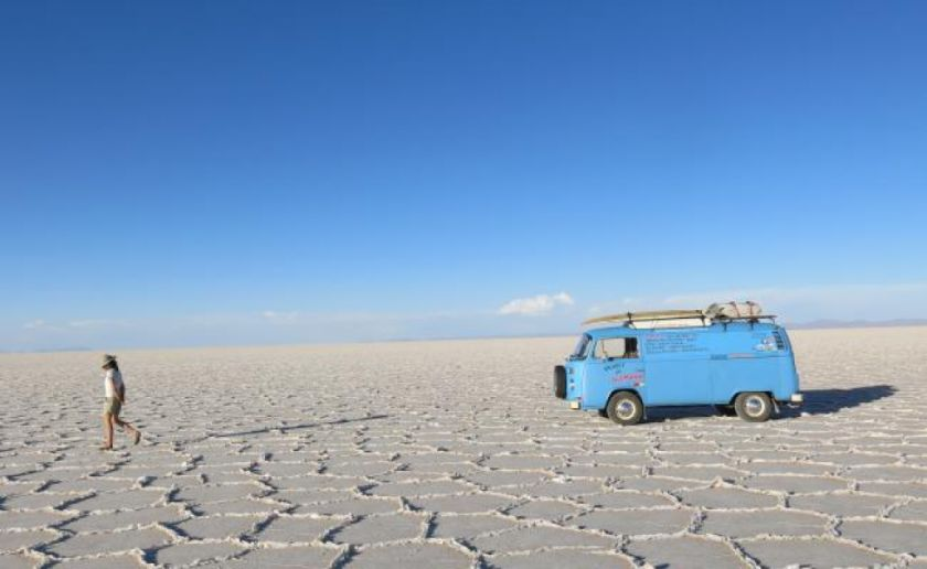 Bloqueo perjudica al turismo en el Salar de Uyuni