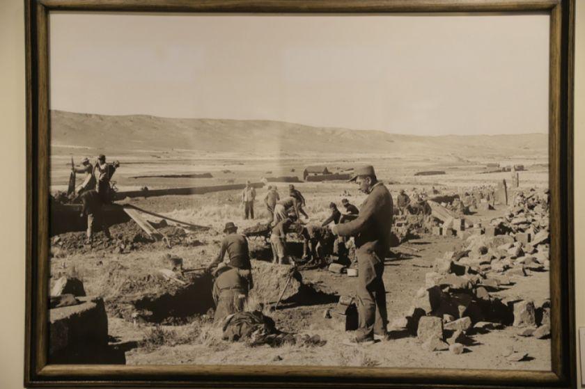 Fotos de las excavaciones en Tiwanaku evidencian modificaciones de sitios