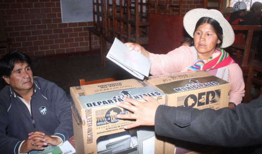 En el Departamento de Potosí, más del 67 por ciento de votantes está en el área rural