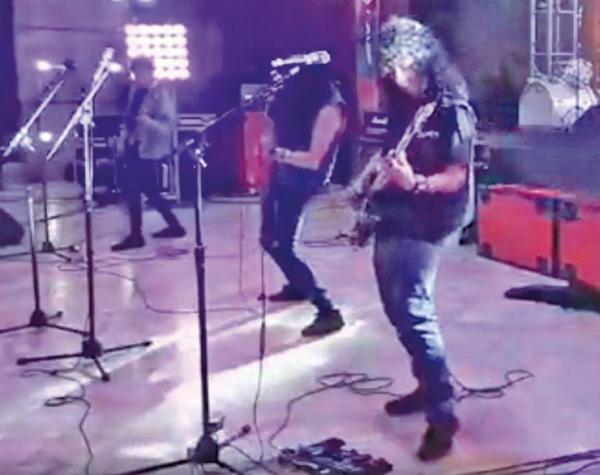 Bandas de rock rindieron tributo a Savia Andina