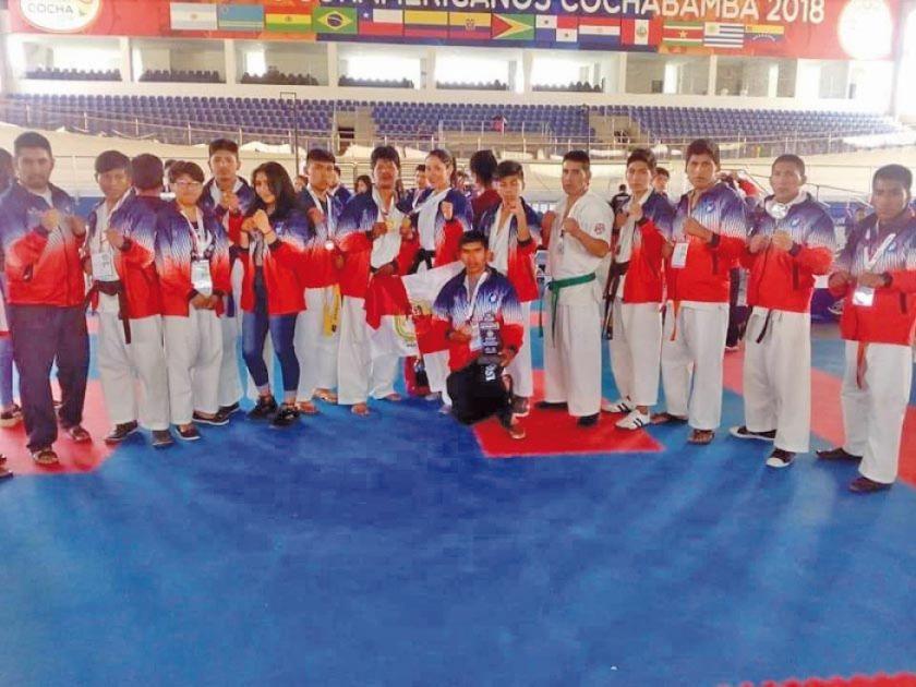 Potosí logra medallas en el Nacional de Karate