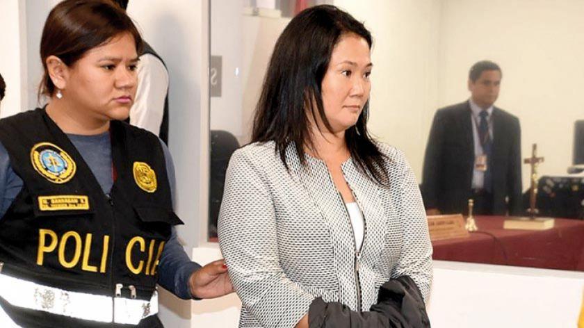 Keiko está hospitalizada y su estado es reservado