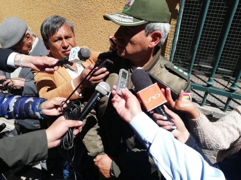 Contingente policial de 50 efectivos avanza a Tarija