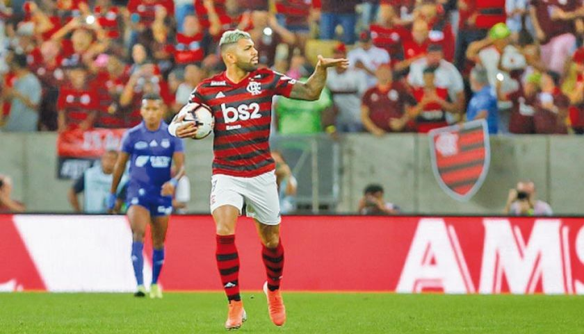 Flamengo reina en el torneo brasileño