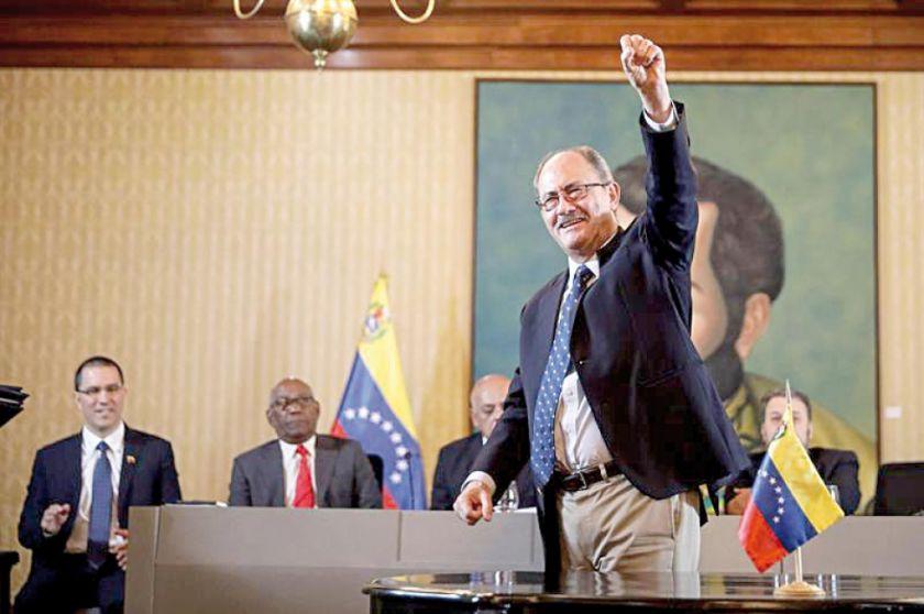Chavismo suscribe un acuerdo con una minoría opositora