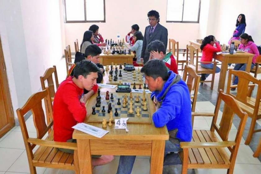 Sucre alberga el clasificatorio de ajedrez