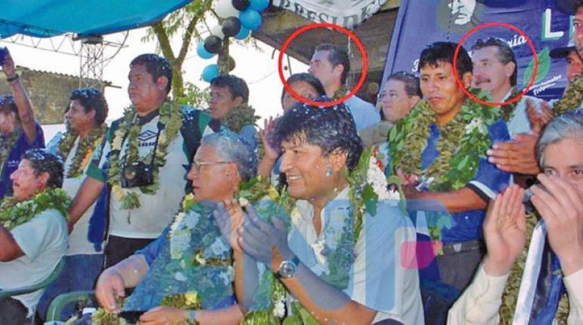 Ejecutivos de OAS participaron junto a Evo en una campaña de 2005