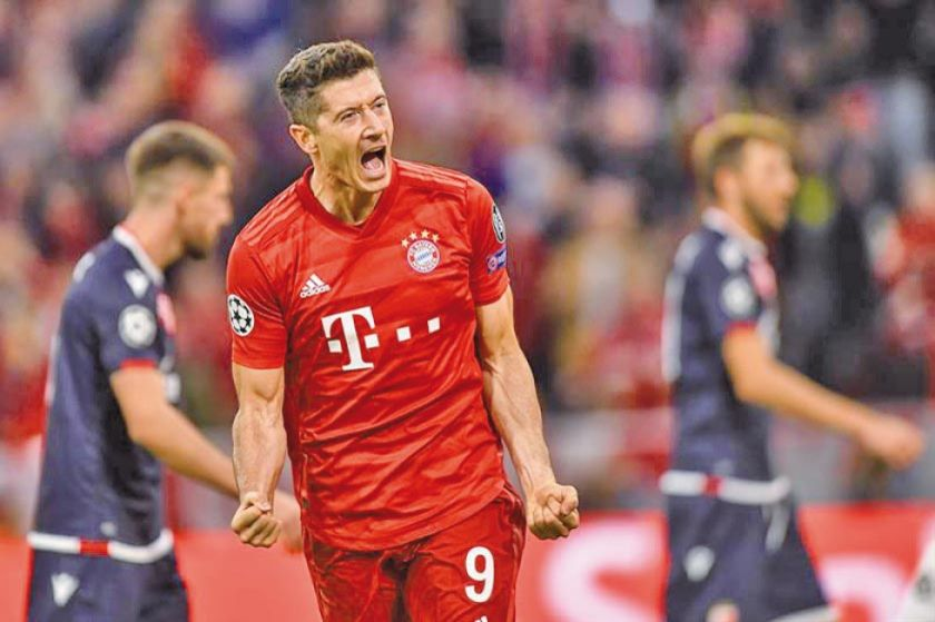 Bayern debuta con goleada ante Estrella Roja