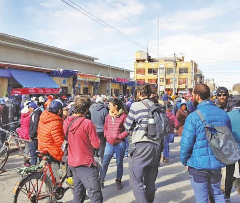 Uyuni podría retomar huelga y el bloqueo de los caminos