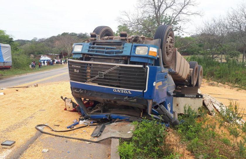 Camión atropella a 2 niños en un pueblo del Chaco