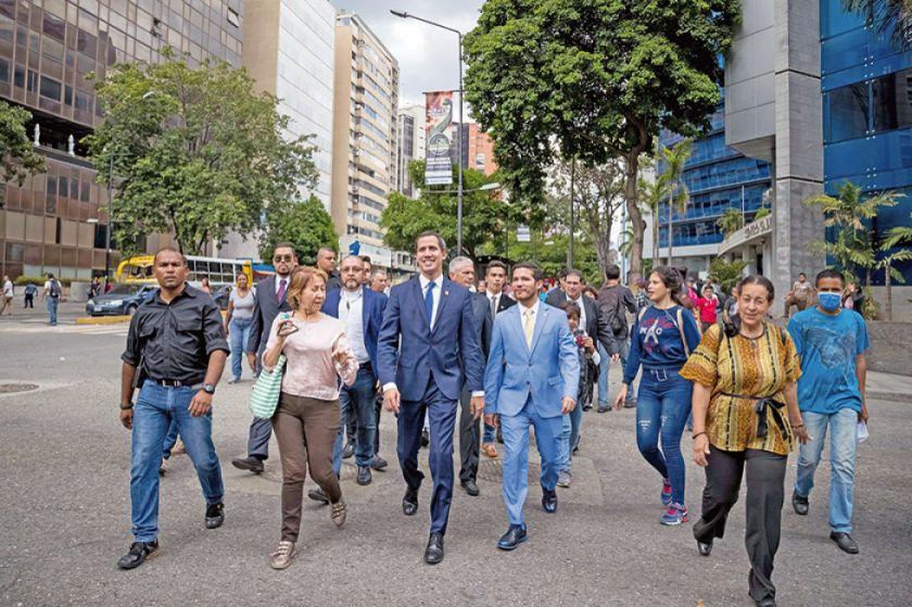 Guaidó acusa a Cabello de sabotear el diálogo