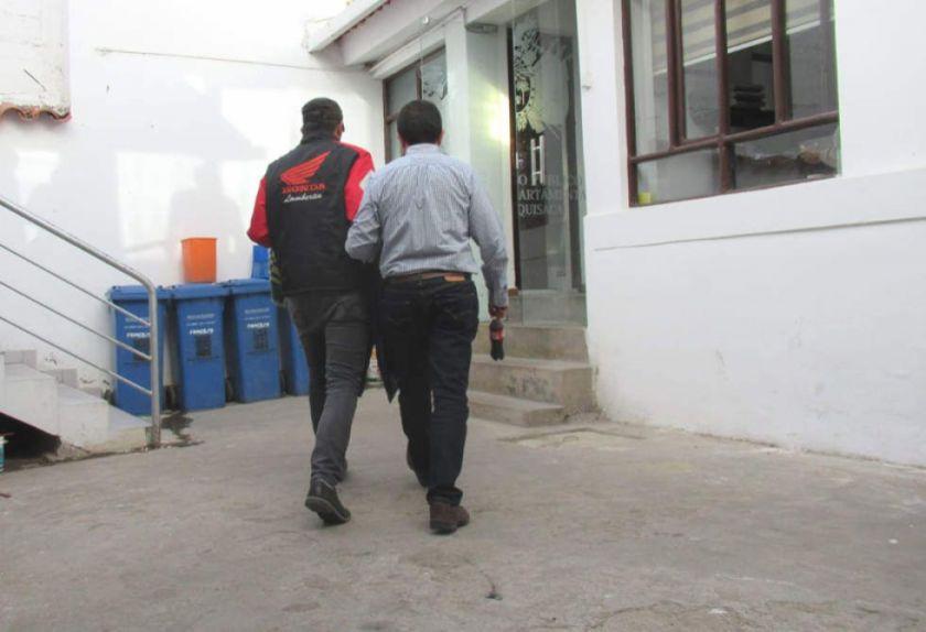 Director administrativo del Órgano Judicial es arrestado