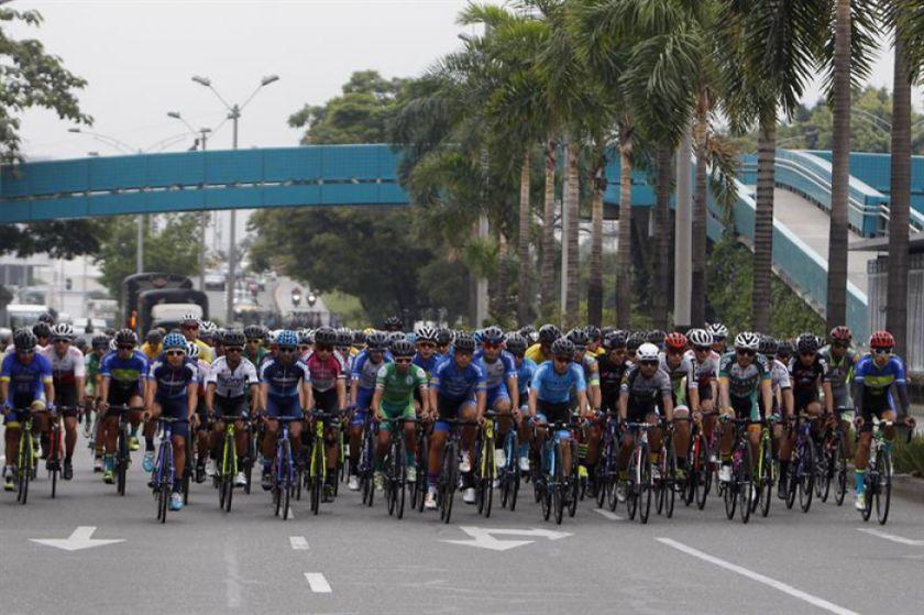 Jhojan Colón es el más rápido en el primer día del Clásico RCN de ciclismo