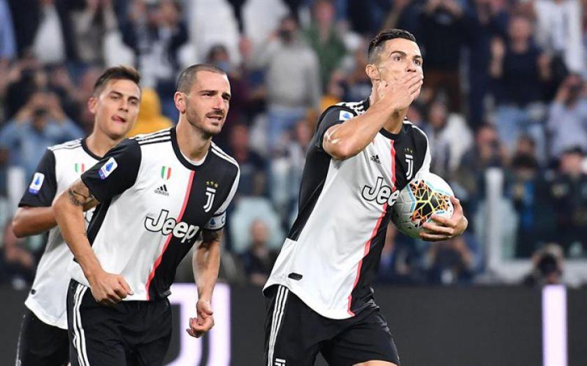 Cristiano da el triunfo a Juventus