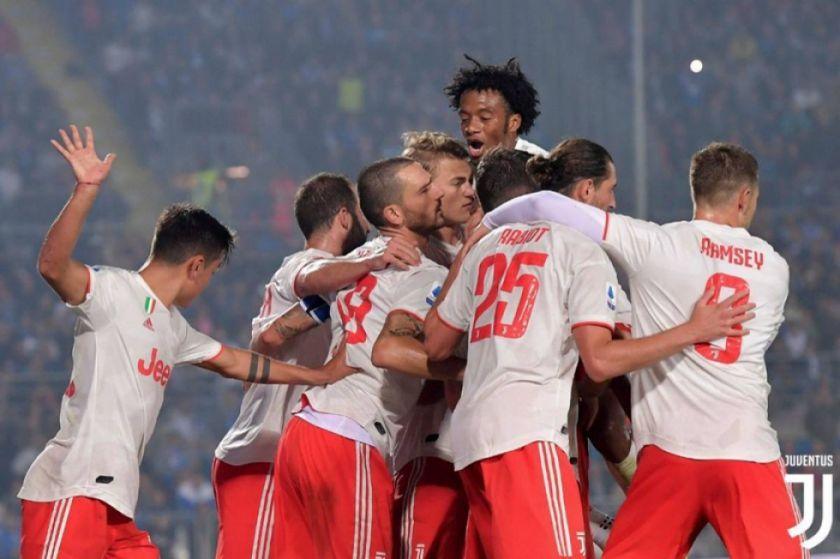 Juventus supera 2-1 a Brescia en la Serie A italiana
