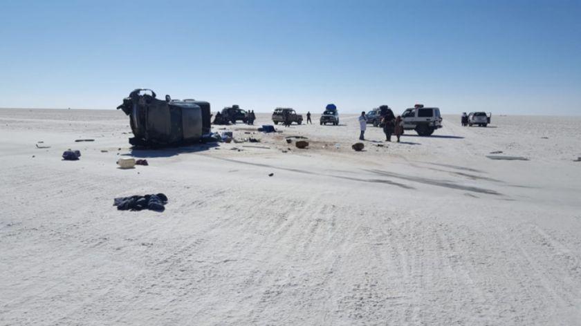 Nueve turistas entre extranjeros y nacionales resultaron heridos