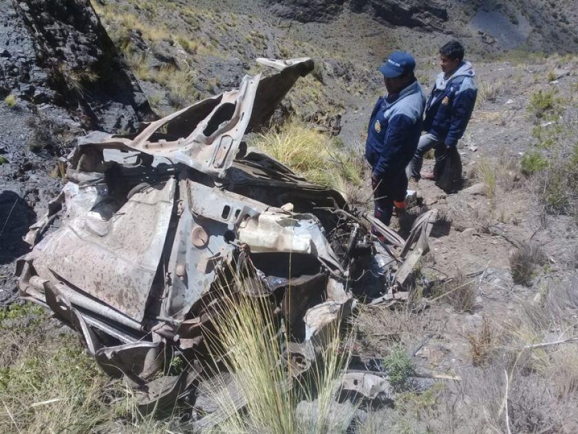Probable imprudencia causó accidente con ocho muertos