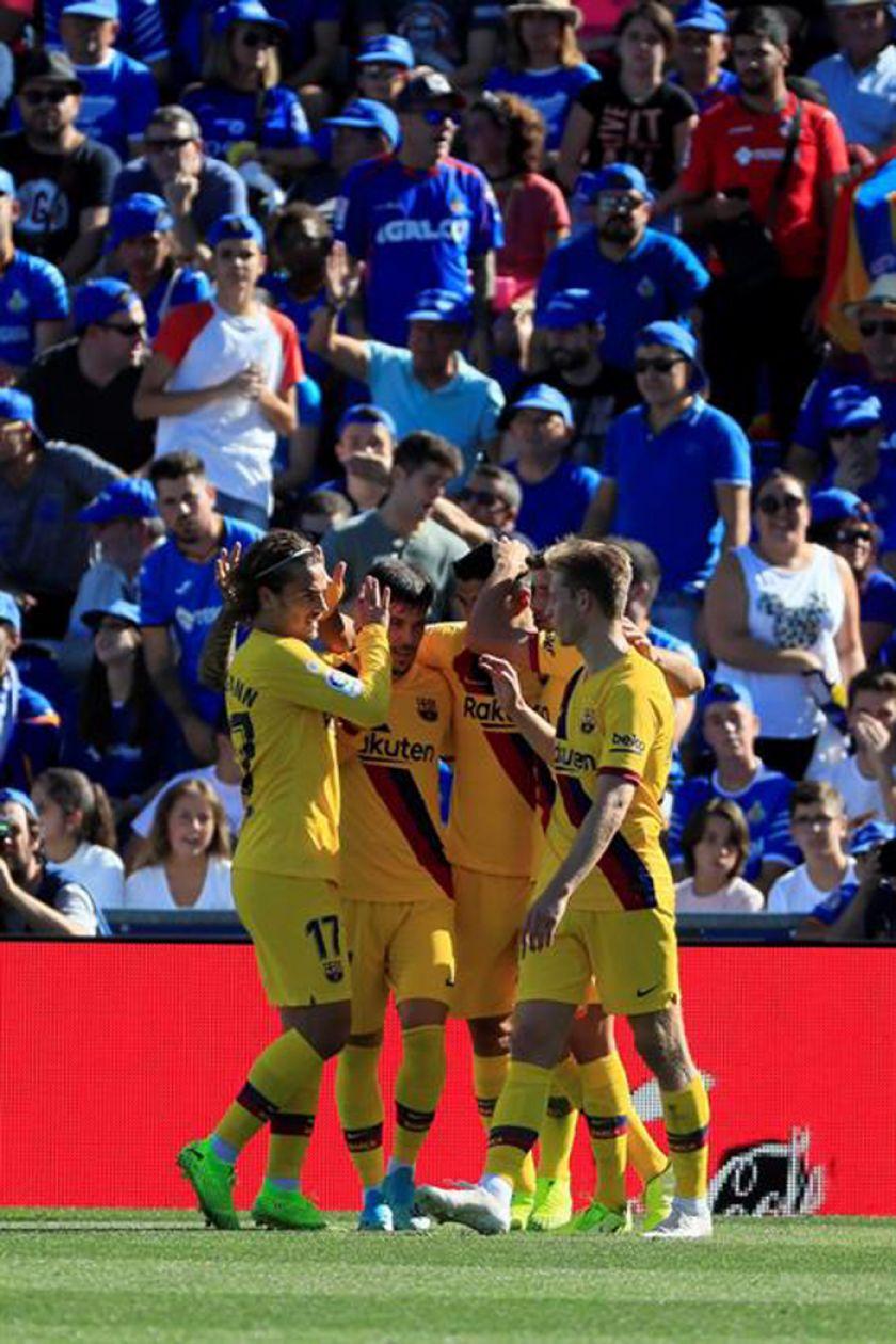 """Barcelona rompe su maldición y gana lejos del """"Camp Nou"""""""